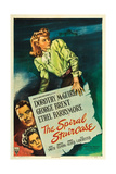 The Spiral Staircase, Dorothy McGuire, George Brent, Ethel Barrymore, 1945 Print