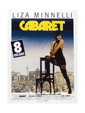 Cabaret, French poster, Liza Minnelli, 1972 Posters