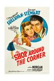 THE SHOP AROUND THE CORNER, from left: Margaret Sullavan, James Stewart, 1940 Prints