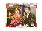 MISS BLUEBEARD, from left: Bebe Daniels, Robert Frazer, 1925 Prints