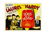 SONS OF THE DESERT, from left: Mae Busch, Stan Laurel, Dorothy Christy, Oliver Hardy, 1933. 高品質プリント