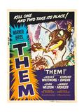 Them!, US poster art, 1954 高品質プリント