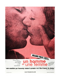 A Man and a Woman (aka Un Homme et une Femme) Posters