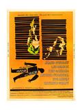 Anatomy of a Murder, Lee Remick, James Stewart on U.S. poster art, 1959 Stampe
