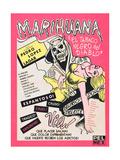 Marihuana, (aka Marihuana Story), Mexican poster art, 1950 Prints