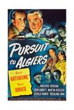 Pursuit to Algiers, Basil Rathbone, Nigel Bruce, 1945 Posters