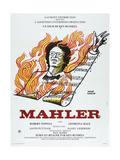 MAHLER, French poster, Robert Powell, 1974 Posters