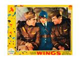 WINGS, Buddy Rogers, Clara Bow, Richard Arlen, 1927 Posters