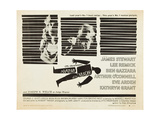 Anatomy of a Murder, Lee Remick, Ben Gazzara, James Stewart, 1959 Poster