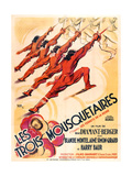 THREE MUSKETEERS (aka LES TROIS MOUSQUETAIRES) Posters