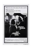 Last Tango in Paris, Maria Schneider, Marlon Brando, 1972 Poster