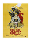 Amarcord, French poster, 1973 高品質プリント