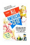 All American Co-Ed Prints