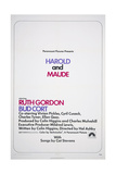 HAROLD AND MAUDE, US poster, 1971 Prints