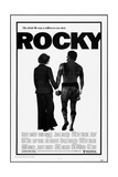 Rocky, Talia Shire, Sylvester Stallone, 1976 Plakater
