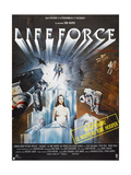 Lifeforce, French poster, 1985. © Cannon Films/courtesy Everett Collection ポスター