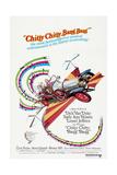 Chitty Chitty Bang Bang, Dick Van Dyke, Sally Ann Howes, 1968 Giclée-Premiumdruck