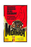 Mothra, poster art, 1961 Poster