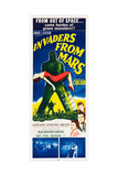 INVADERS FROM MARS, 1953. Posters