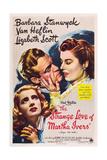 THE STRANGE LOVE OF MARTHA IVERS, Barbara Stanwyck, Van Heflin, Lizabeth Scott, 1946 Kunst