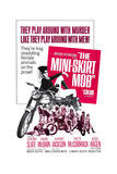 THE MINI-SKIRT MOB, Diane McBain (on motorcycle), 1968 Poster