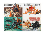 Thunderball, lobbycard, Sean Connery, 1965 Poster