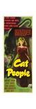 Cat People, Simone Simon, 1942 Plakater