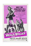 HELL'S BELLES, left: Jocelyn Lane, 1970 Juliste