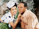 Cabin in The Sky, Lena Horne, Eddie 'Rochester' Anderson, 1943 写真