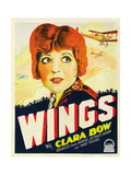 Wings, Clara Bow, 1927 Posters