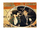 THE CIRCUS, Merna Kennedy, Charlie Chaplin, poster art,  1928 Láminas