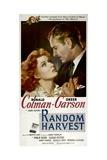 Random Harvest, Greer Garson, Ronald Colman, 1942 Poster