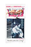Baby Doll, Eli Wallach, Carroll Baker, 1956 Giclée-Premiumdruck