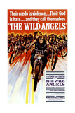 The Wild Angels, Peter Fonda, Nancy Sinatra, 1966 Affiche