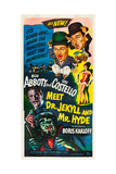 Abbott and Costello Meet Dr. Jekyll and Mr. Hyde Plakater