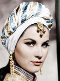 THE LOVES OF OMAR KHAYYAM, (aka OMAR KHAYYAM), Debra Paget, 1957 Foto