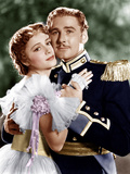 THE CHARGE OF THE LIGHT BRIGADE, from left: Olivia de Havilland, Errol Flynn, 1936 Fotografia