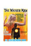 The Wicker Man, (aka Le Dieu D'osier), Belgian poster, 1973 Plakat