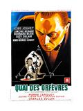 JENNY LAMOUR, (aka QUAI DES ORFEVRES), French poster, Louis Jouvet, 1947 Póster