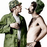 MASH, (aka M*A*S*H), from left: Donald Sutherland, Elliot Gould, 1970. Foto