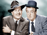 THE ABBOTT AND COSTELLO SHOW, from left: Bud Abbott, Lou Costello, 1952-53 Photographie