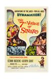 THE 7TH VOYAGE OF SINBAD (aka THE SEVENTH VOYAGE OF SINBAD) Plakater