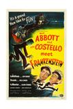 Abbott and Costello Meet Frankenstein, Lou Costello, Bud Abbott, 1948 Kunstdrucke