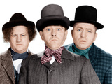 Phony Express, Larry Fine, Moe Howard, Curly Howard, (aka The Three Stooges), 1943 Fotografía
