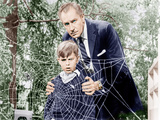 The Fly, Charles Herbert, Vincent Price, 1958 Foto