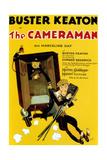 The Cameraman, Buster Keaton, 1928 Premium Giclee-trykk