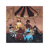 Ladies at Lunch Giclee Print by Jeff Williams