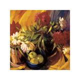 Peonies and Apples Impressão giclée por Philip Craig