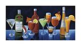Cocktail Hour Reproduction procédé giclée par Will Rafuse
