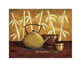 Bamboo Tea Room I Lámina giclée por Krista Sewell
